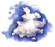 Nuvola nel cielo Fotografia Stock Libera da Diritti