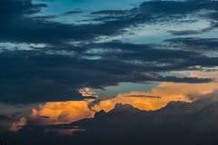 Nuvola Scape Fotografia Stock Libera da Diritti