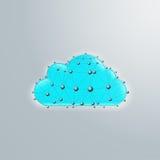 Nuvola segmentale Fotografie Stock Libere da Diritti