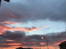 Nuvola sierosa Fotografia Stock Libera da Diritti