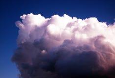 Nuvola sola Fotografia Stock