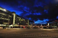 Nuvola a Stoccolma Immagini Stock