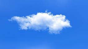 Nuvola sul fondo del cielo blu Immagine Stock Libera da Diritti