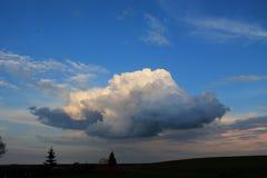 Nuvola vistosa Fotografia Stock Libera da Diritti
