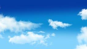 Nuvole 002 video d archivio