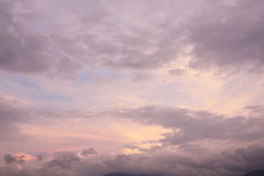 Nuvole 8 Fotografia Stock
