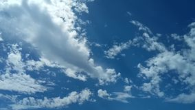 Nuvole al rallentatore stock footage