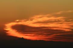 Nuvole al tramonto Fotografia Stock