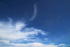 Nuvole capricciose di estate Fotografia Stock Libera da Diritti