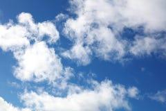 Nuvole in cielo Immagini Stock