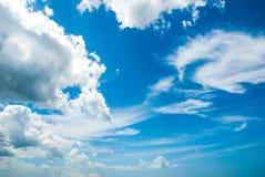 Nuvole a cielo blu Immagine Stock Libera da Diritti