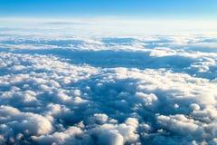 Nuvole da sopra 1 Fotografie Stock Libere da Diritti