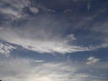 Nuvole dei cieli fotografia stock