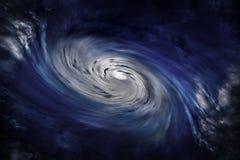 Nuvole del ciclone Fotografie Stock Libere da Diritti