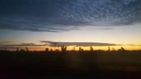 Nuvole del cielo nordico fotografia stock libera da diritti