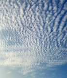 Nuvole del cotone Immagine Stock Libera da Diritti