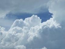 Nuvole del Nebraska Immagine Stock