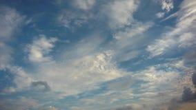 nuvole del timelapse 4K archivi video