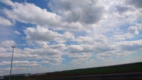 Nuvole della primavera Immagini Stock Libere da Diritti