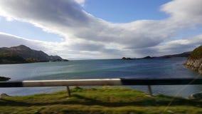 Nuvole della Scozia Fotografia Stock