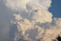 Nuvole della terra Fotografia Stock Libera da Diritti