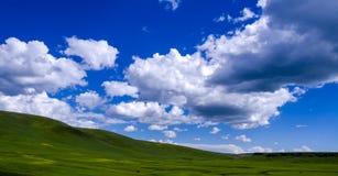 Nuvole della valle Immagine Stock