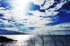 Nuvole delle Hawai Fotografia Stock