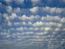 Nuvole di Altocumulus Immagine Stock