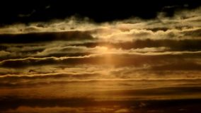 Nuvole di estate di Berlino, Germania video d archivio