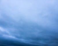 Nuvole di freddo di capacità Fotografia Stock Libera da Diritti