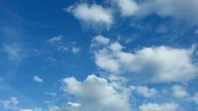Nuvole di lasso di tempo video d archivio