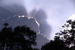 Nuvole di monsone Fotografia Stock Libera da Diritti