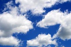 Nuvole di Pacman? Fotografia Stock Libera da Diritti