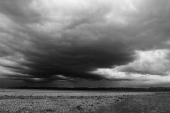 Nuvole di pioggia Fotografia Stock