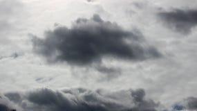 Nuvole di pioggia Fotografie Stock Libere da Diritti