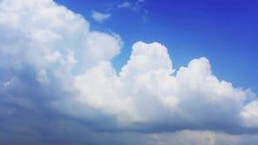 Nuvole di pioggia di lasso di tempo stock footage