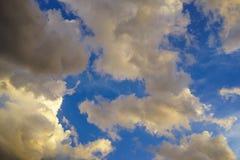 Nuvole di sera Immagine Stock Libera da Diritti