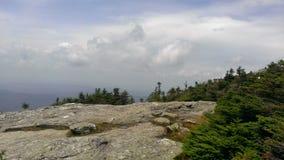 Nuvole di sogno del Vermont immagine stock