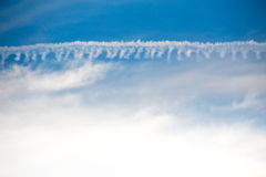 Nuvole di Sttrange Fotografia Stock