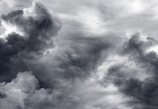 Nuvole di tempesta Fotografia Stock Libera da Diritti