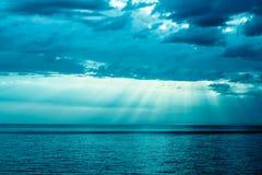Nuvole di tempesta Fotografia Stock