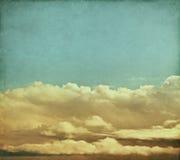 Nuvole di tempesta dell'annata Immagini Stock