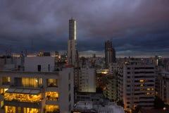 Nuvole di tempesta di Beirut Fotografia Stock Libera da Diritti