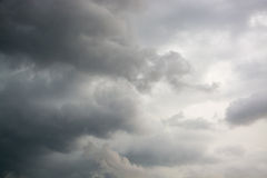 Nuvole di tempesta di Cloudscape immagine stock libera da diritti
