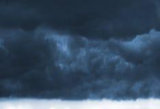 Nuvole di tempesta scure Immagine Stock Libera da Diritti