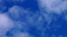 Nuvole di volo Fotografie Stock Libere da Diritti
