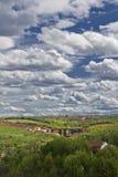 Nuvole dopo pioggia Immagini Stock