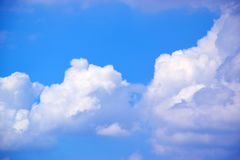 Nuvole e fondo 171018 0163 del cielo blu Fotografie Stock Libere da Diritti
