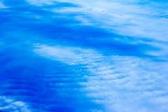 Nuvole e mare Immagine Stock