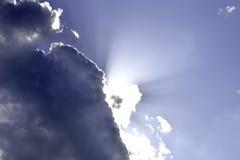 Nuvole e sole Fotografia Stock Libera da Diritti